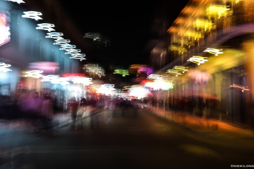 Bourbon Street (Abstract)