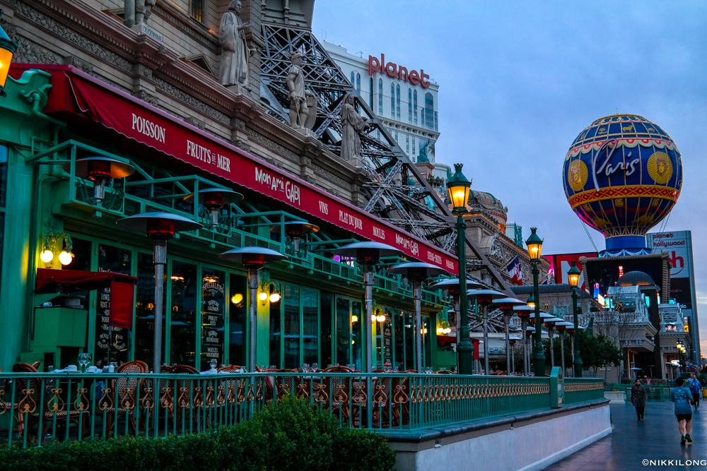 Paris Eiffel Tower Restaurant Las Vegas